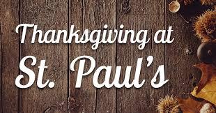 thanksgiving dinner at st paul s st paul s umc