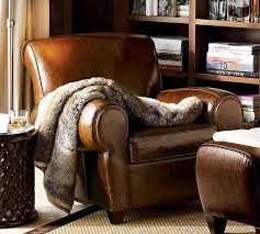 Best Club Chair Images On Pinterest Club Chairs Accent - Leather chairs living room