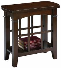 Chair Side Table With Storage Skinny Side Table Appears To Save The Space Without Lacking Of