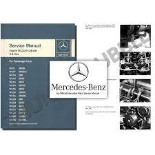 mercedes repair manuals mercedes m110 engine service workshop repair manual 280 s e se ce