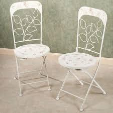 Outdoor Bistro Chair Cushions Abigails Garden Indoor Outdoor Metal Bistro Furniture Chair