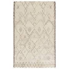 Safavieh Reflection Shine Rug Jaipur Living Safi 8 X 11 Wool Rug In Neutral