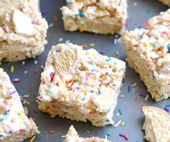 golden oreo funfetti rice krispie treats 5 boys baker