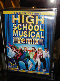 high school high dvd high school musical dvd 2 disc set remix edition disney