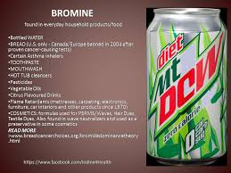 bromine one of the halogens most don t realize where bromine