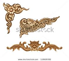 Wood Carving Designs Free Download by Pattern Wood Frame Carve Flower On Stock Photo 316102856