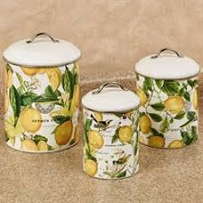 yellow kitchen canisters kitchen canisters and canister sets touch of class