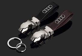 audi a3 keyring leather tag audi gift items