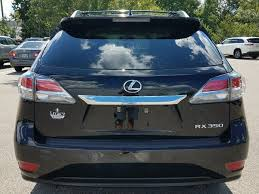 lexus rx cargo space pre owned 2015 lexus rx 350 350 sport utility in tallahassee