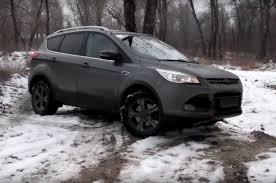 Ford Escape Accessories - ford kuga bmw x3 volkswagen tiguan 4x4 off road snow ice youtube