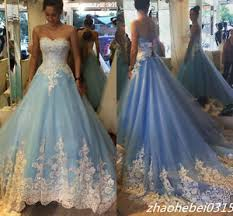 cinderella wedding dresses 2017 blue cinderella wedding dresses princess appliques bridal