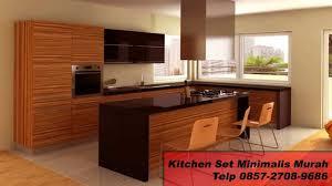 Kitchen Set Minimalis Hitam Putih 0857 2708 9686 Kitchen Set Almunium Jual Kitchen Set Bekas