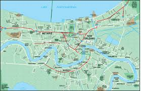 orleans map orleans louisiana wall maps