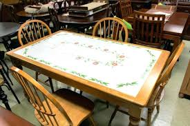 tile top dining room tables tile top dining table russellarch com
