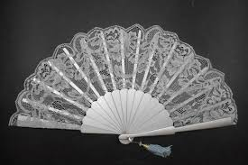 lace fans silk and lace fans for ceremonies