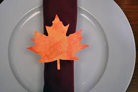 Diy Thanksgiving Napkin Rings Kid Friendly Thanksgiving Diy Napkin Rings Your Linen Service