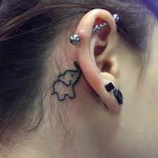40 inspiring tiny ear tattoos that you say i need this