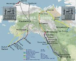 Northern Canada Map Up Close With Alaska And Northern Canada By Sea And Air