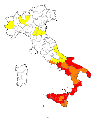 Foggia Italy Map Organized Crime In Italy Wikipedia
