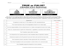 Eighth Grade Worksheets Three Branches Of Government Worksheet 4th Grade Image Gallery Hcpr