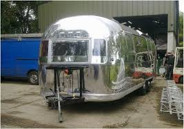 beautiful reconditioned vintage airstream food trailer for sale or