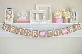 decorations for bridal shower pink bridal shower to be banner bridal shower decor