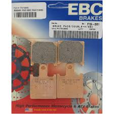 ebc hh sintered front brake pads for zx6r 07 12 solomotoparts com