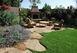 Backyard Landscaping Design Ideas Architecture Backyard Landscape Design With Barbeque Designs