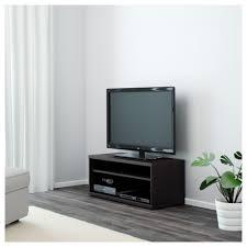 mosjö tv bench black brown 90x40x38 cm ikea