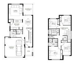 house floor plans for wide blocks