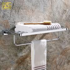Bathroom Towel Shelf Popular Chrome Bath Towel Holder Buy Cheap Chrome Bath Towel