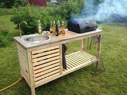 simple outdoor kitchen ideas 15 outdoor kitchen designs that you can help diy