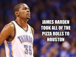 Pizza Rolls Meme - kevin durant pizza roll meme luv the nba pinterest pizza rolls
