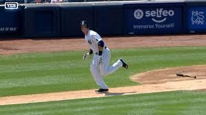 tyler austin aaron judge hit first home runs mlb com