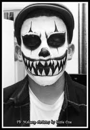 Scary Guy Halloween Costumes Evil Clown Makeup Buscar Google Fantasy Mk