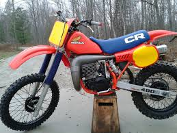 honda cr 480 dirt bikes 3 u0026 4wheelers now and then