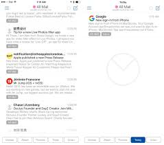 airmail iphone review power email u2013 macstories