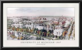University Of Michigan Map by Ann Arbor University Of Michigan Mi 1907 Vintage City Maps