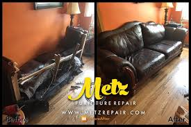 Leather Couch Upholstery Repair Photos Our Professional Staff Works On Site Or In Shop To