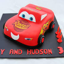 lightning mcqueen cakes 3d lightning mcqueen cake my cake place