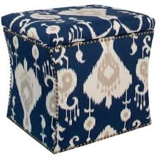 Ikat Storage Ottoman Ikat Ottomans Storage Ottomans For Less Overstock