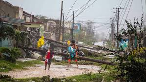 hurricane maria makes landfall in dominica as category 5 storm