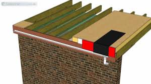 thermal bridging of an insulated flat roof through the front thermal bridging of an insulated flat roof through the front fascia youtube