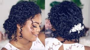 pics of bridal hairstyle wedding hairstyle for natural curly hair youtube
