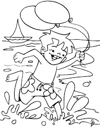 free summer coloring pages printable