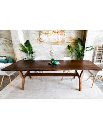 black friday sales on walnut live edge dining table conference