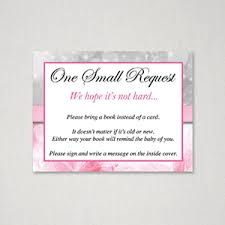 instead of a card bring a book printable baby shower bring book instead of card