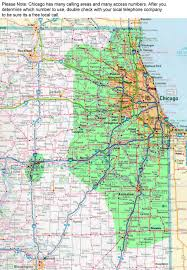 Chicago Illinois Zip Code Map by Enter Prefix