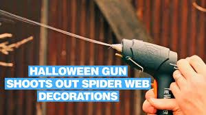 webcaster gun halloween gun that shoots out spider web