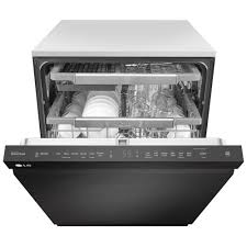 matte black appliances ldp6797bm lg appliances fully integrated dishwasher matte black
